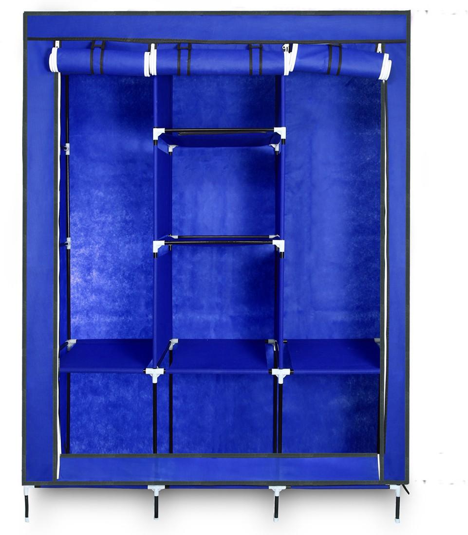 View Birdy Fabric Closet(Finish Color - Blue, 8 Door ) Furniture (Birdy)