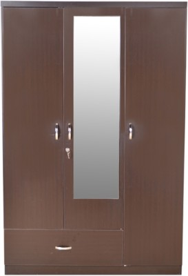 HomeTown Utsav Engineered Wood Free Standing Wardrobe