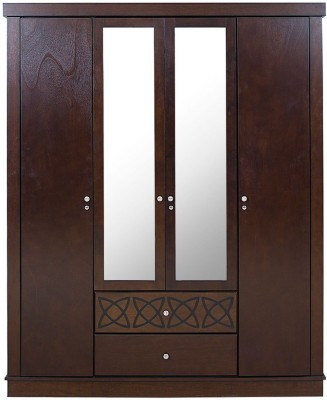 HomeTown Solid Wood Free Standing Wardrobe
