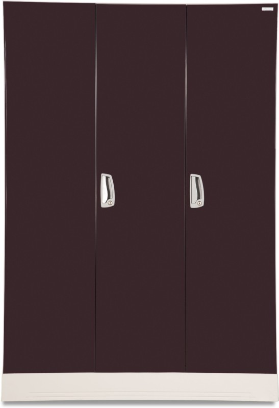 Godrej Interio Slimline WL Metal Almirah(Finish Color - Wine red)