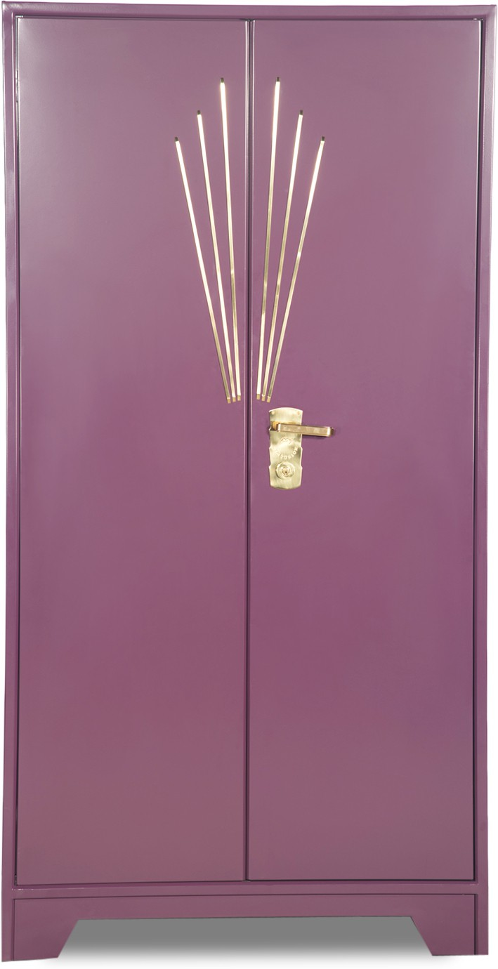 godrej interio centurion metal almirah(finish color - purple