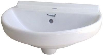 BM BELMONTE 406 Jonca 18X13 Wall Hung Basin(White)