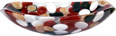 Mudit Resin M75 Table Top Basin(White, Yellow, Red)