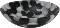 Centurion Basins BLWH213 Table Top Basin(Black, White)