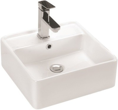 VML Curo-Designer Wash Basin-White-5017 Table Top Basin(White)