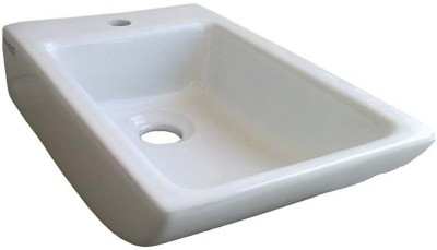 BM BELMONTE 407 Sparrow 10X15 Wall Hung Basin(White)