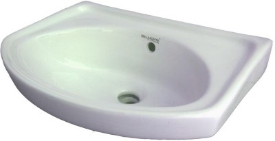 BM BELMONTE 402 18X12 Wall Hung Basin(White)
