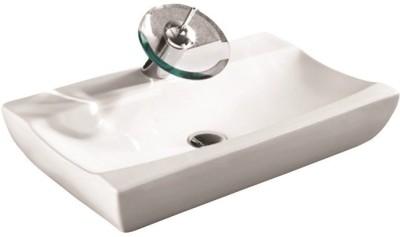 VML Curo-Designer Wash Basin-White-5009 Table Top Basin(White)