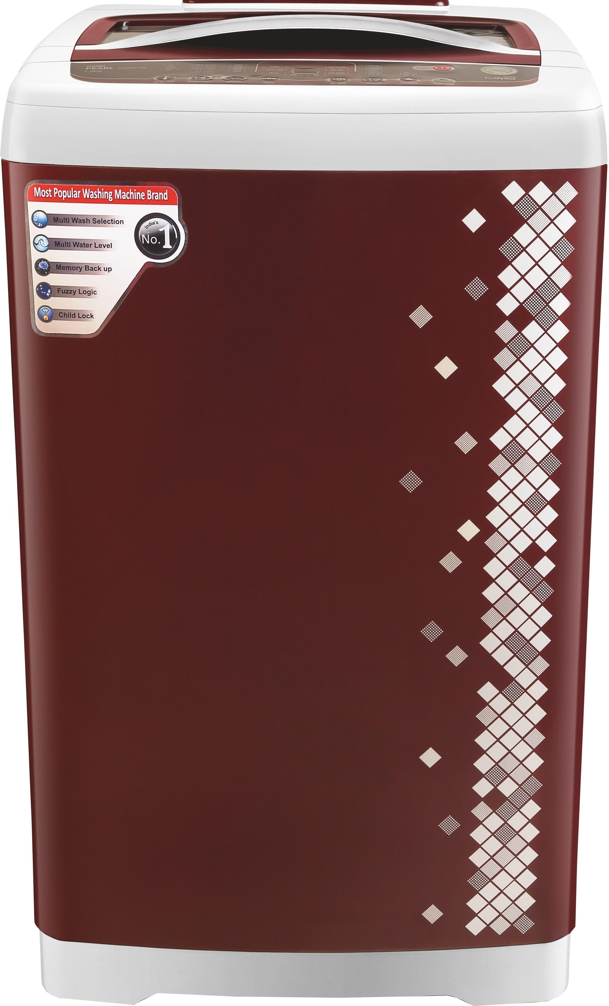 VIDEOCON VT70G12 DIGI PEARL 7KG Fully Automatic Top Load Washing Machine