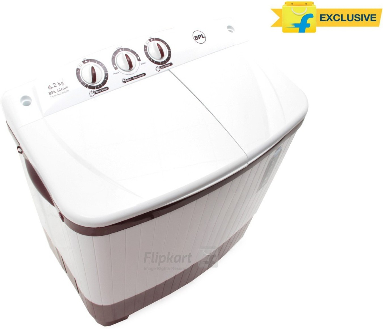BPL BSATL62N1 6.2KG Semi Automatic Top Load Washing Machine