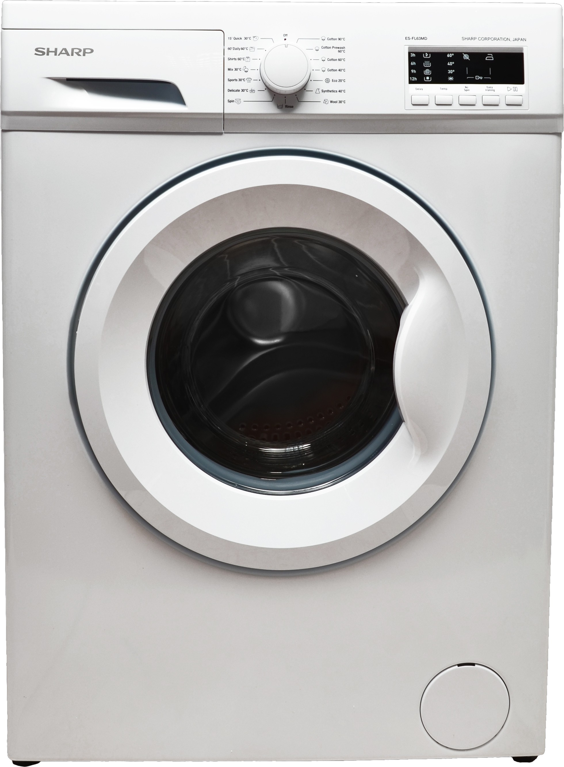 Sharp 6 kg Fully Automatic Front Loading Washing Machine (Sharp)  Buy Online