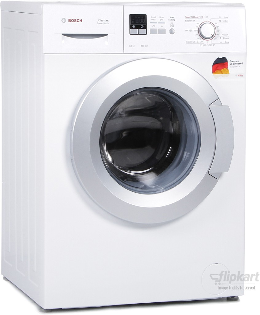 BOSCH WAX16161IN 6KG Fully Automatic Front Load Washing Machine