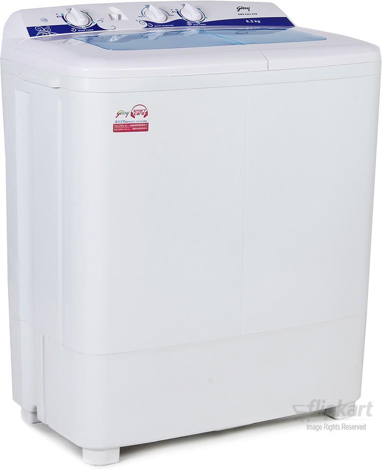 GODREJ GWS 6203 6.2KG Semi Automatic Top Load Washing Machine