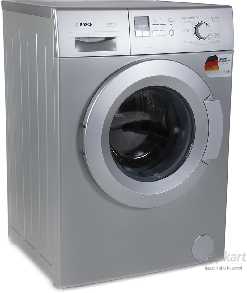 BOSCH WAX20168IN 6KG Fully Automatic Front Load Washing Machine