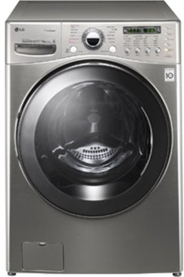 LG 17 kg Fully Automatic Front Load Washer with Dryer (F1255RDS27)