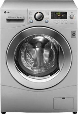 LG 6 kg Fully Automatic Front Load Washer with Dryer (F12A8CDP2)