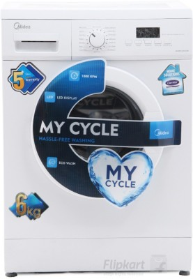 Midea 6 kg Fully Automatic Front Load Washing Machine(MWMFL060GHN)