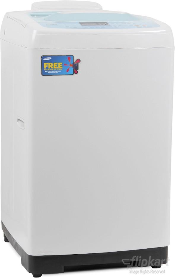 SAMSUNG WF602B2BHSD 6.2KG Fully Automatic Top Load Washing Machine