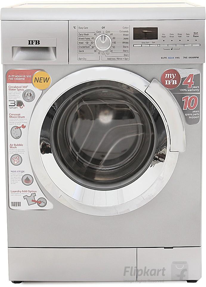 IFB 7 kg Fully Automatic Front Load Washing Machine(Elite Aqua VXS) (IFB)  Buy Online
