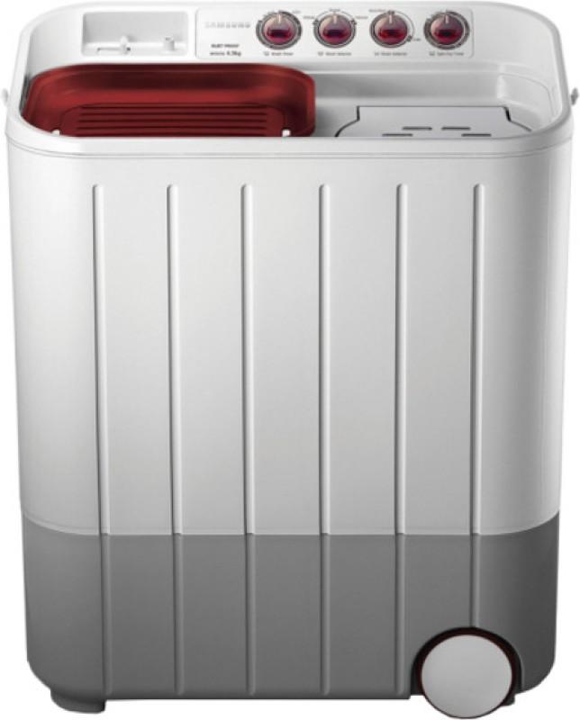 SAMSUNG 6.5 kg Semi Automatic Top Load Washing Machine(WT657QPNDPGXTL)