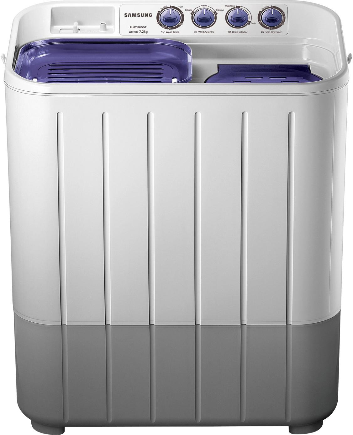 SAMSUNG WT725QPNDMP 7.2KG Semi Automatic Top Load Washing Machine