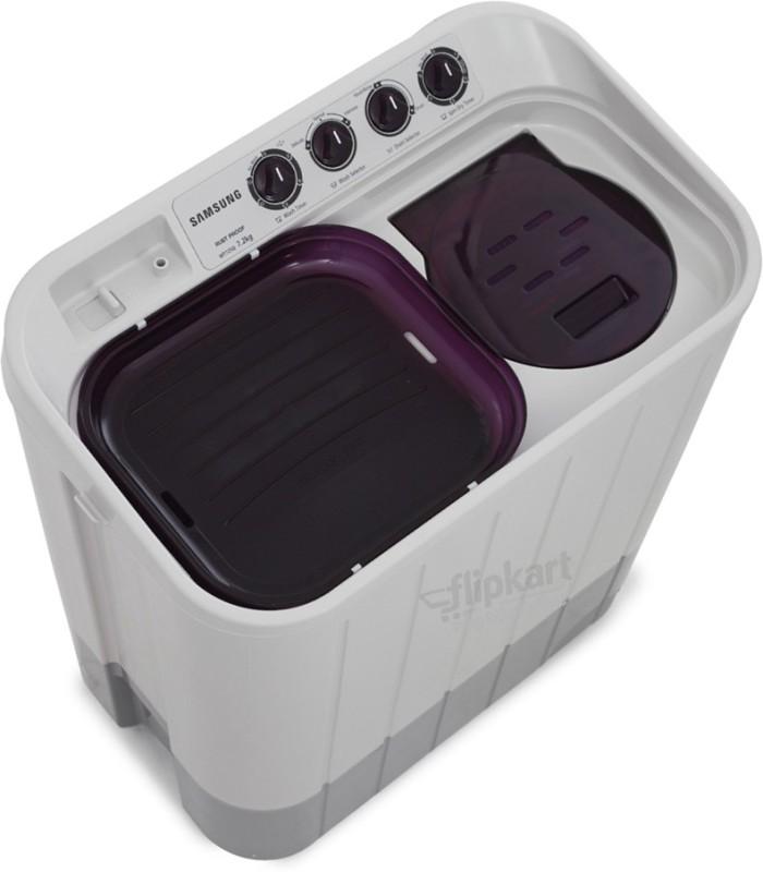 SAMSUNG 7.2 kg Semi Automatic Top Load Washing Machine(WT725QPNDMPXTL)
