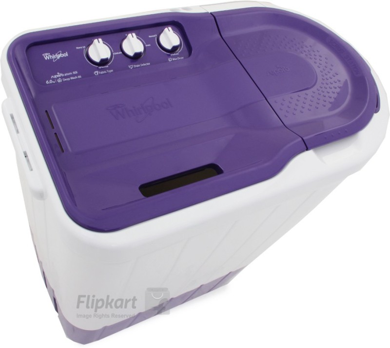Whirlpool 6 kg Semi Automatic Top Load Washing Machine(Superb Atom...