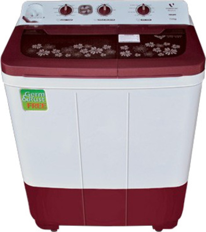 Videocon VS73J11 Niwa+ Semi-automatic Top-loading Washing Machine (7.3 Kg, Dark Maroon): Amazon.in: Home & Kitchen
