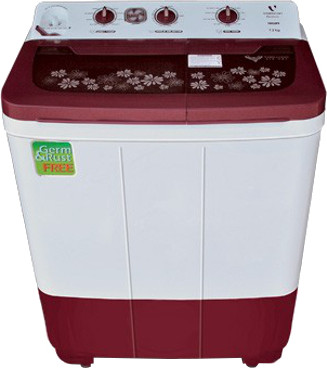 Videocon 7.3 kg Semi Automatic Top Loading Washing Machine ...