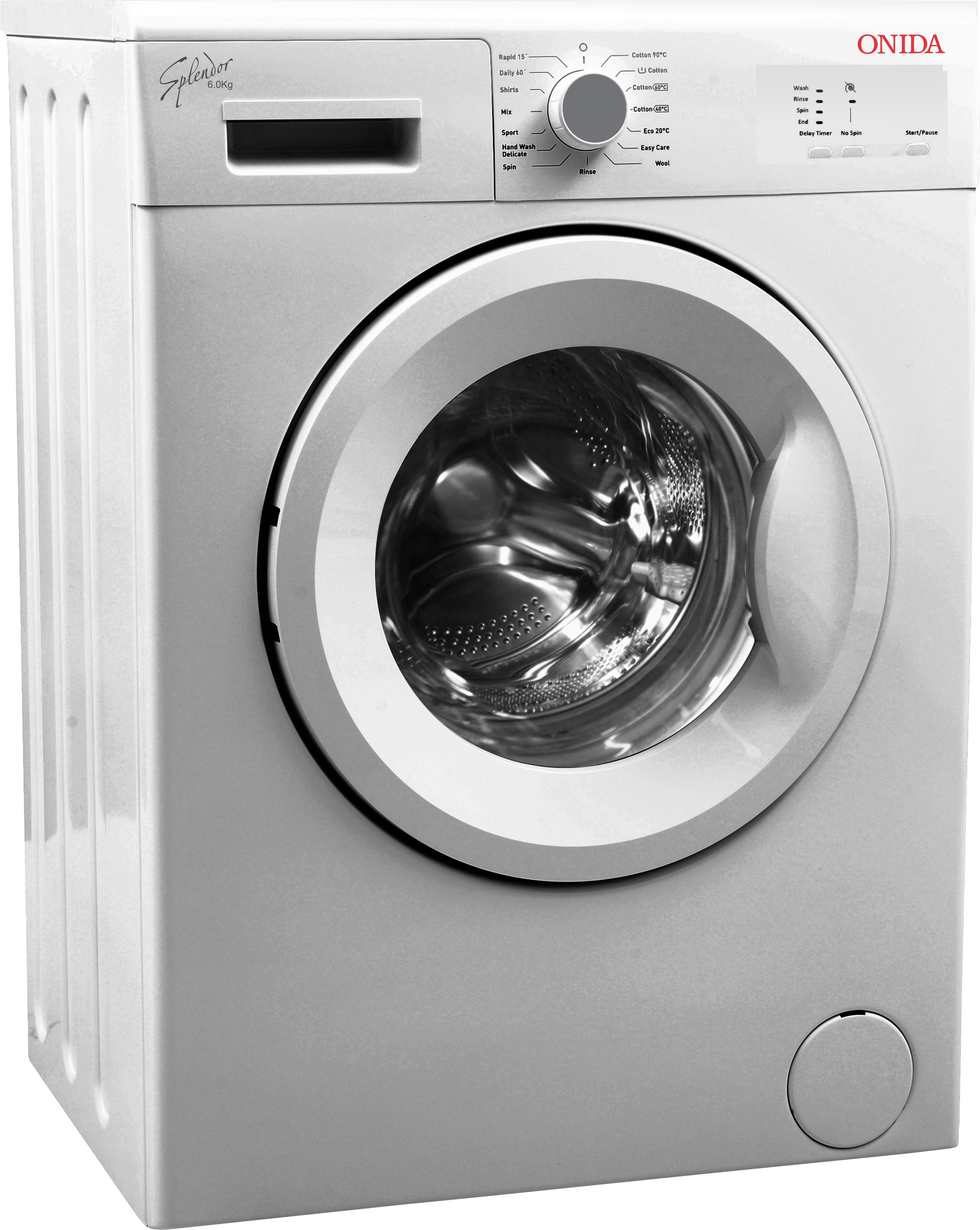 View Onida 6 kg Fully Automatic Front Loading Washing Machine  Price Online