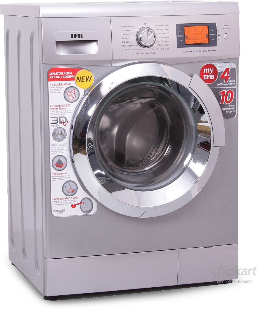 IFB SENATOR AQUA SX 8KG Fully Automatic Front Load Washing Machine