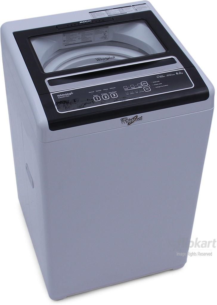 Deals - Delhi - Just Rs.13,990 <br> Whirlpool 6.2 kg Washing Machine<br> Category - home_kitchen<br> Business - Flipkart.com