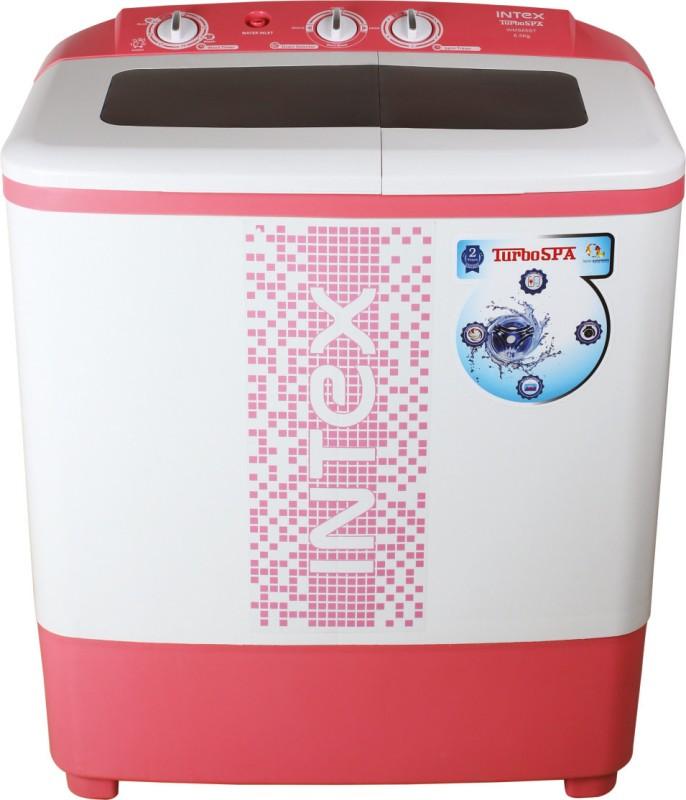 Intex 6.5 kg Semi Automatic Top Load Washing Machine(WMS65ST)