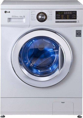 LG FH296HDL23 7KG Fully Automatic Front Load Washing Machine