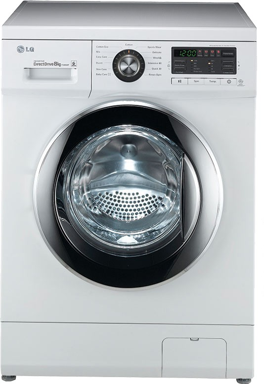 LG F1496TDP23 8KG Fully Automatic Front Load Washing Machine