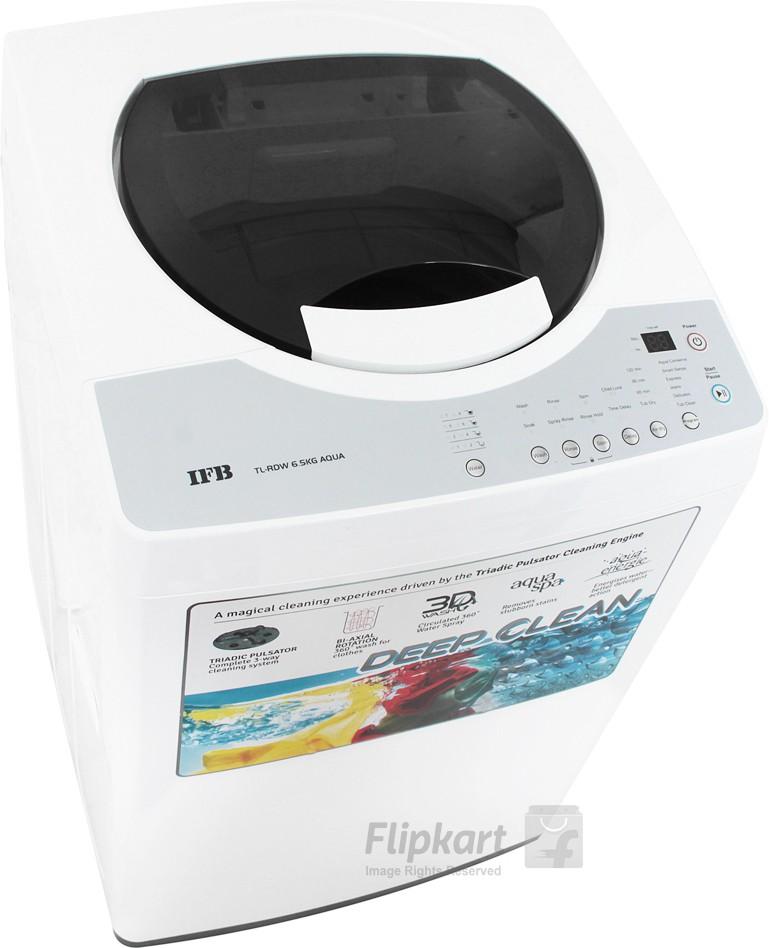 IFB TL-RDW 6.5 kg Aqua Fully Automatic Top Loading Washing Machine (IFB)  Buy Online