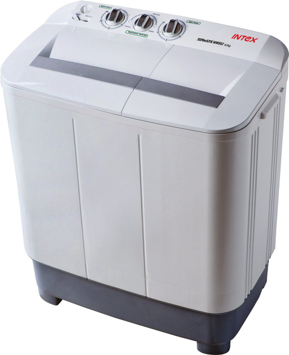INTEX WMS62 6.2KG Semi Automatic Top Load Washing Machine