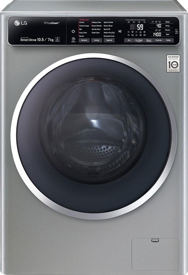 LG FH4U1JBHK6N 7KG Fully Automatic Front Load Washing Machine