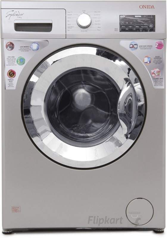Onida 7 kg Fully Automatic Front Load Washing Machine WOF7010LS