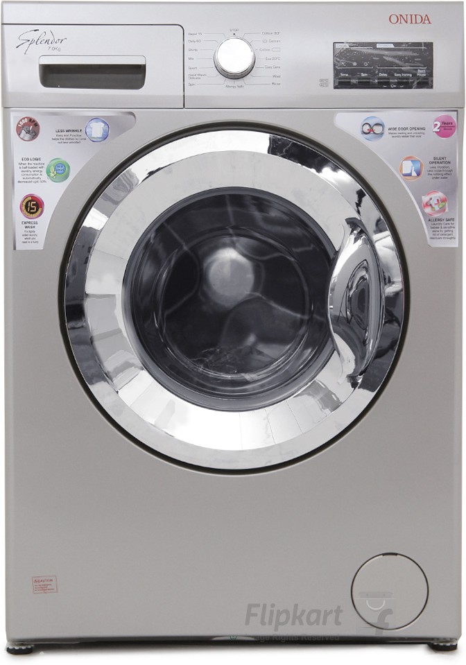 ONIDA WOF7010LS 7KG Fully Automatic Front Load Washing Machine