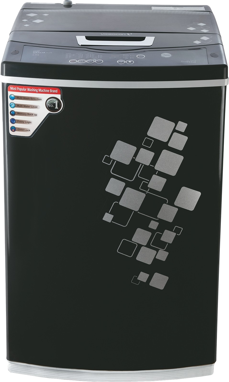 Videocon Digi Gracia Prime WM VT60H12-RG 6 kg Fully Automatic Top Loading Washing Machine
