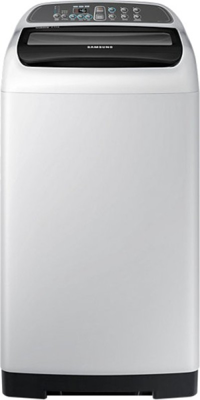 SAMSUNG 6.5 KG FULLY AUTOMATIC TOP LOADING WASHING MACHINE (LIGHT GREY) - WA65K4200HA