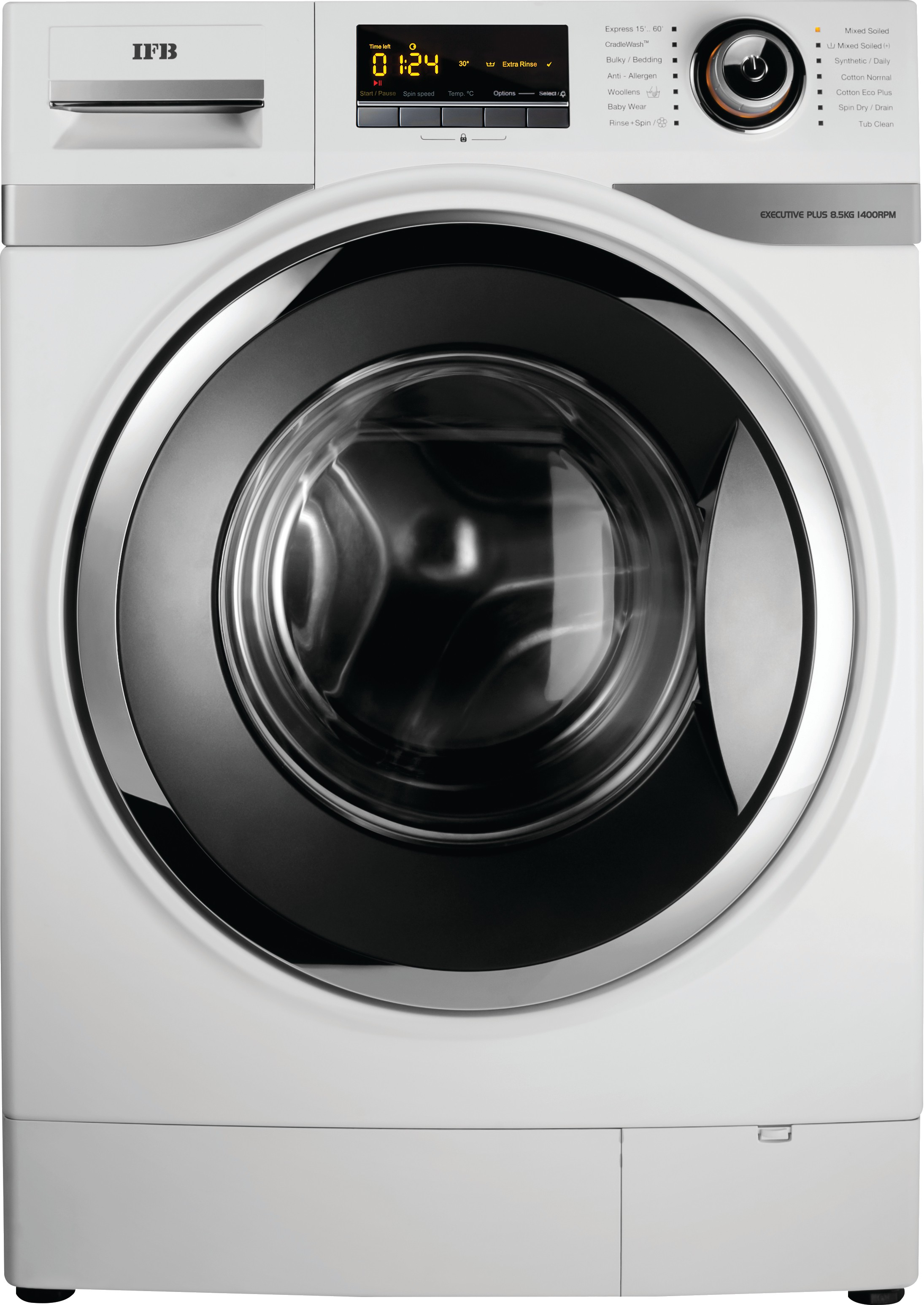 IFB EXECUTIVE PLUS VX 8.5KG Fully Automatic Front Load Washing Machine