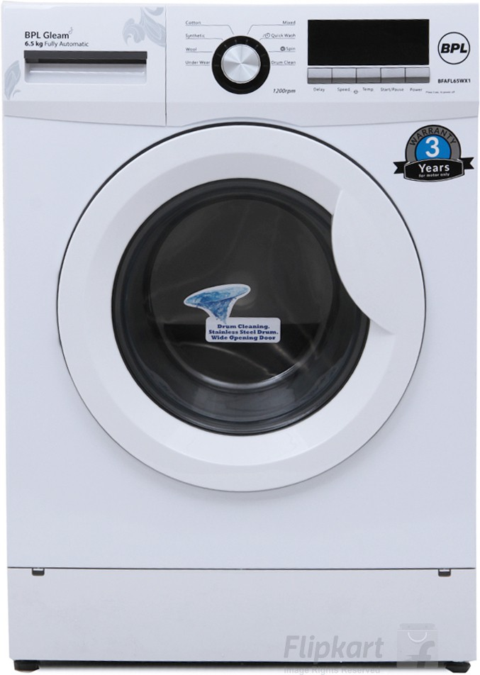 Deals | Up to 25% Off BPL Washing Machines - Flipkart Excl