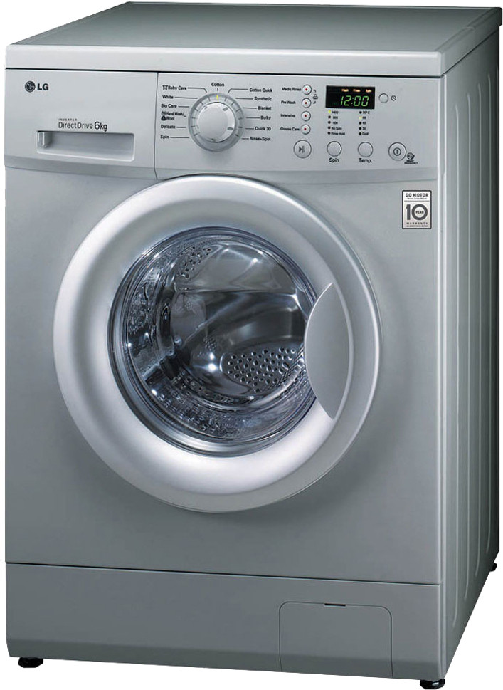 Lg F1091ndl2 6kg Fully Automatic Front Load Washing