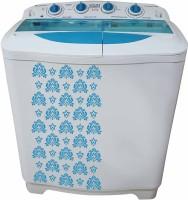 Mitashi 8 kg Semi Automatic Top Load Washing Machine White(MiSAWM80v10)