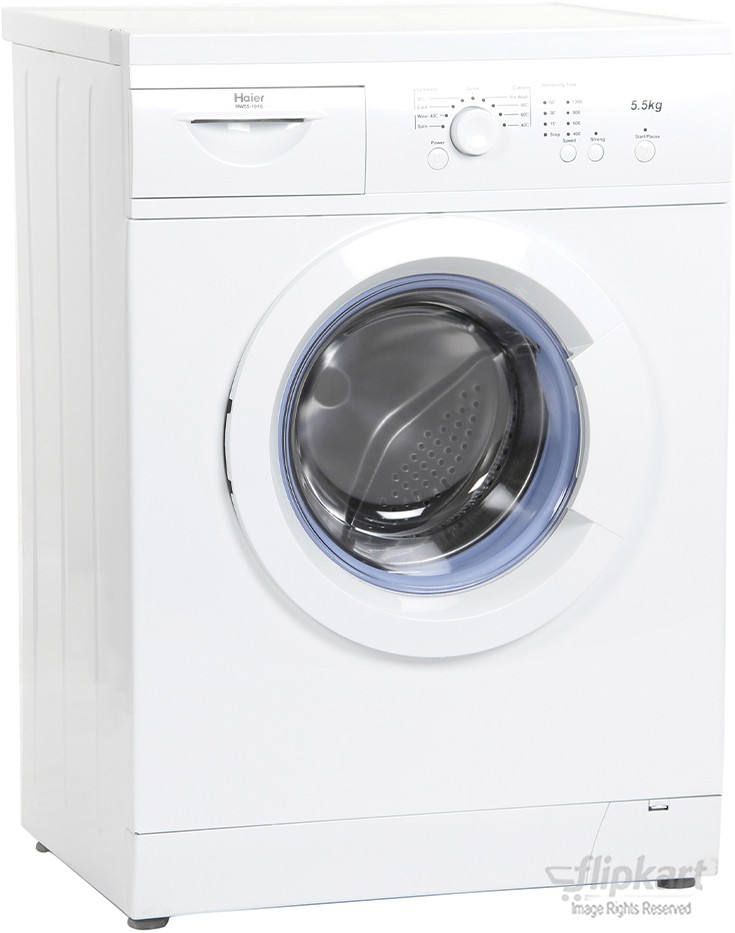 HAIER HW55-1010 5.5KG Fully Automatic Front Load Washing Machine
