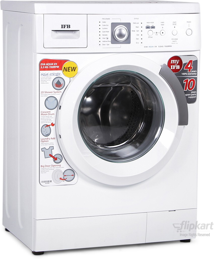 IFB EVA AQUA VX 5.5KG Fully Automatic Front Load Washing Machine
