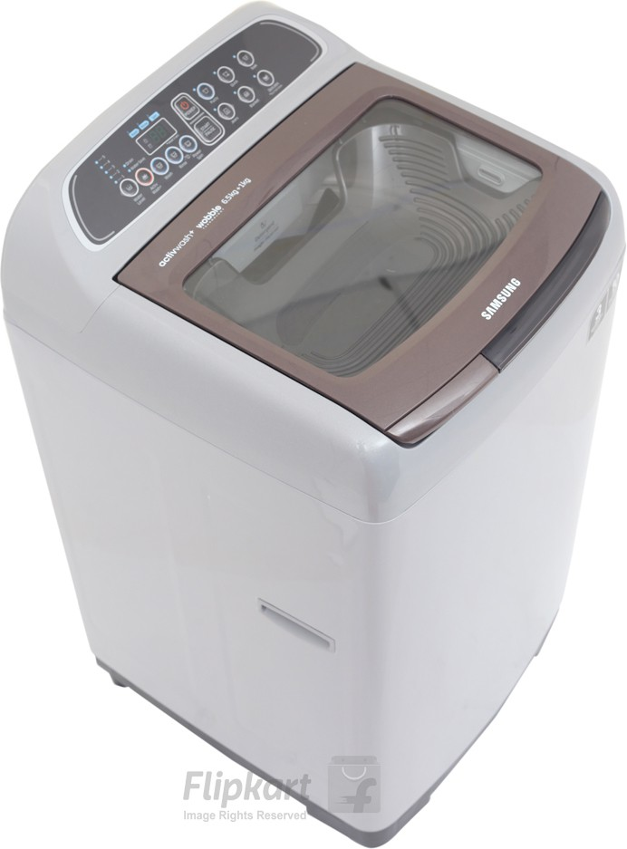 View SAMSUNG 6.5 kg Fully Automatic Top Load Washing Machine(WA65K4000HD/TL)  Price Online