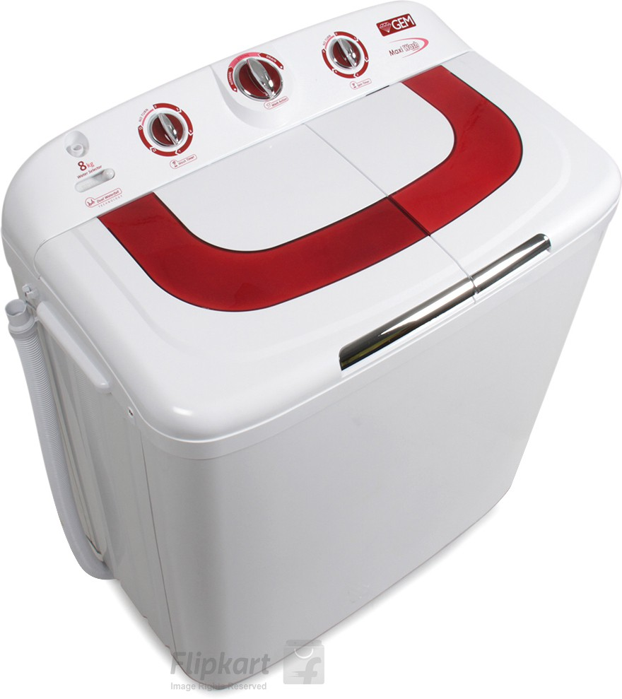 GEM GWM-808GA 8KG Semi Automatic Top Load Washing Machine